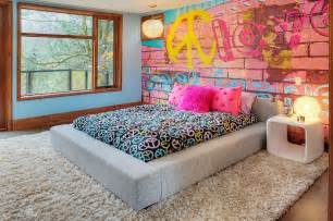teenage wall murals 25 vivacious kids rooms with brick walls full of personality