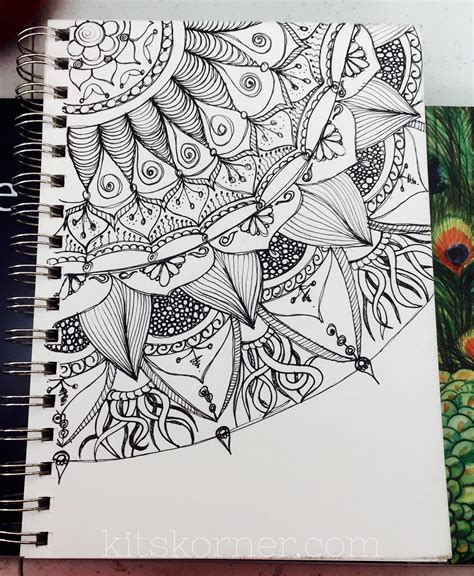 sketchbook gratis sketchbook open composition mandalas kitskorner
