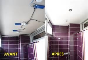 faux plafond pour salle de bain chaios