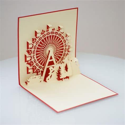 Ferris Wheel Pop Up Card Template by Popup Card Popup Wheels Ferris Wheels And