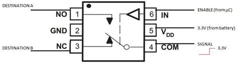 integrated circuit relay switches is analog spdt ic switch same as mechanical relay electrical engineering stack