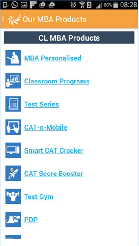 Career Launcher Mba Test Series by Free Mobile App For Cat Clat Bank Ssc Gk Entrance Coaching