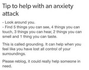 how can i calm during a panic attack panic attacks