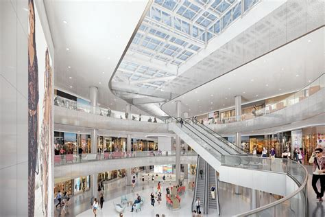 makeover at the mall first look at the beverly center s huge makeover curbed la