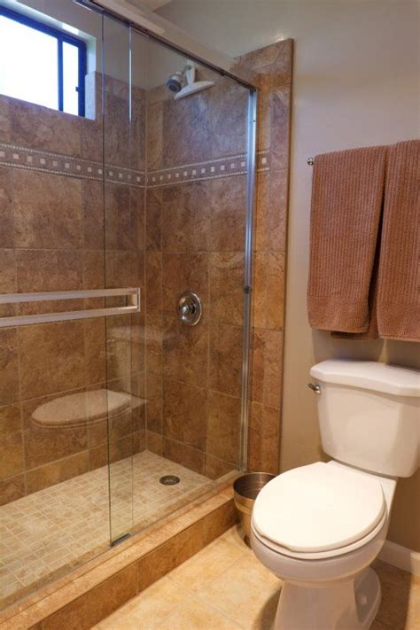 Remodeled Showers by 17 Best Ideas About Small Bathroom Remodeling On