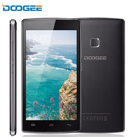 buy doogee  max pro mobile phone andriod   hd mtk quad core gb