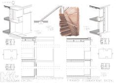 sections margaret esherick house 204 sunrise lane margaret esherick house plan arch pinterest esherick
