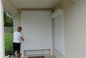 Just Blinds Installation Rolling Roll Down Hurricane Shutters Rolling Roll Down