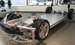 Tesla Electric Car Battery Replacement Tesla S Model S Now Has A Titanium Underbody Shield To