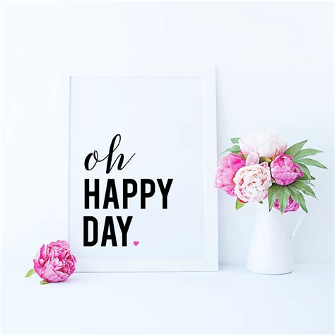 Happy Day just dandy studio free friday printable oh happy day