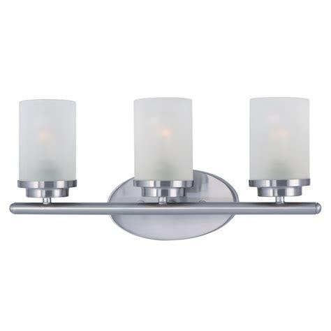 Maxim Lighting Corona Satin Nickel Bathroom Light Satin Nickel Bathroom Lights