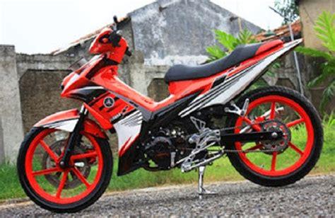 Motor Jupiter Mx Warna Orange by Harga Motor Modif