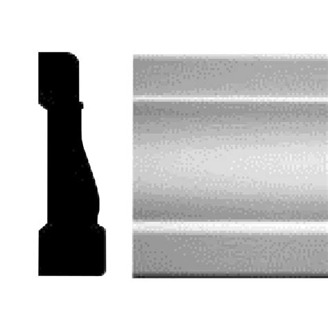Ac Window 1 2 Pk Uchida lwm346 9 16 in x 2 1 4 in primed mdf casing hdfb346