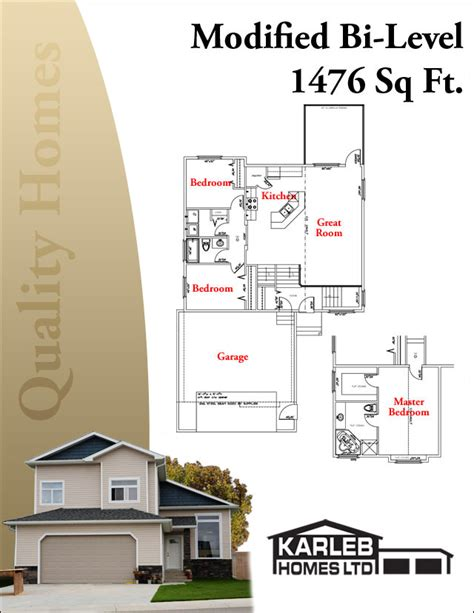 modified bi level house plans beautiful bi level home plans 9 modified bi level house plans smalltowndjs com
