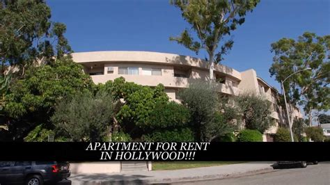 bedroom apartment  rent  hollywood los angeles ca youtube