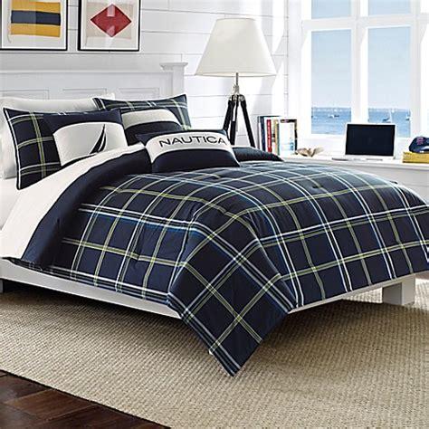 nautica king comforter sets buy nautica 174 barrett king comforter set in navy from bed
