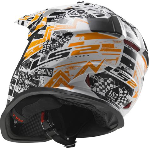 youth small motocross helmet ls2 mx437j fast mini youth motocross helmet junior mx dirt