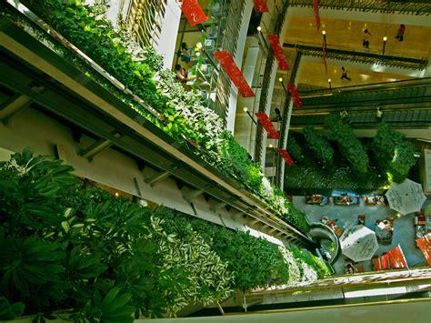 Emporium shopping mall bangkok vertical garden patrick blanc