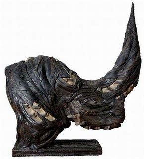 Patung Saulim 4 Gaya Set afastworld hasil daur ulang ban bekas