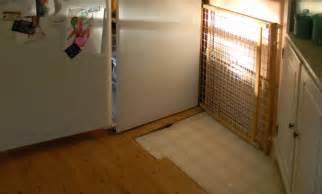 Take up old laminate flooring mobile home kitchen