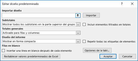 articulos gerza din micas de grupo e integraci n de establecer opciones de dise 241 o predeterminadas de tabla