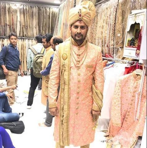 Maharaja Prince Sahab Sherwani   Manufacturer of Indo