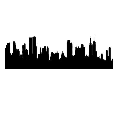 Skyline New York Clipart Best