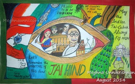 india independence day 2014 indian independence day paintings for www imgkid