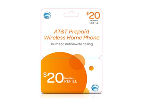 20 gophone wireless home phone refill card