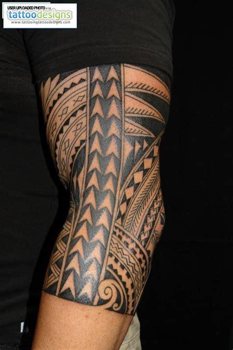 polynesian tattoo designs sleeve maori polynesian half sleeve
