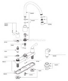 moen kitchen faucets parts diagram moen ca87553 parts list and diagram ereplacementparts