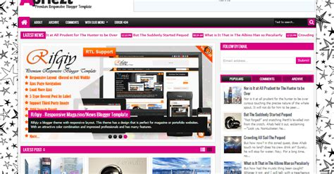 blogger themes responsive 2015 all my complete demo apriezt responsive blogger theme