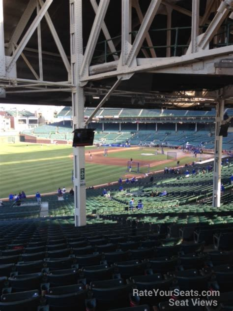wrigley field section 204 wrigley field section 204 chicago cubs rateyourseats com