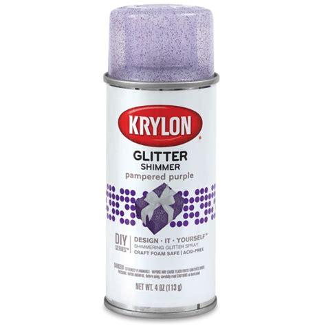 spray paint with glitter krylon glitter spray paint blick materials