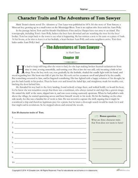 printable character questionnaire 612 best reading comprehension activities images on