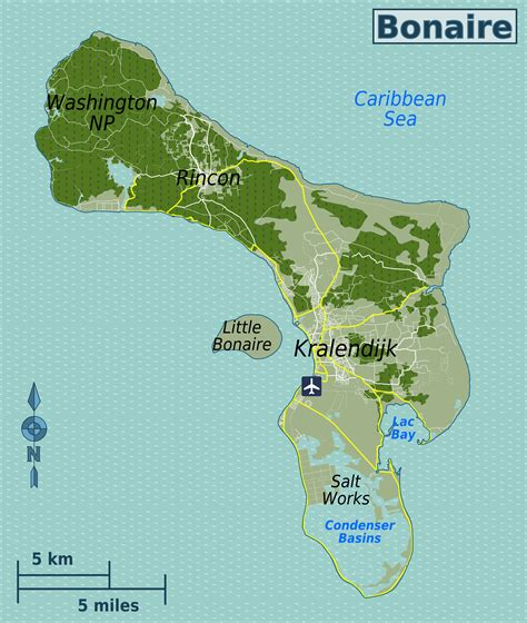 bonaire map file bonaire travel map png wikimedia commons