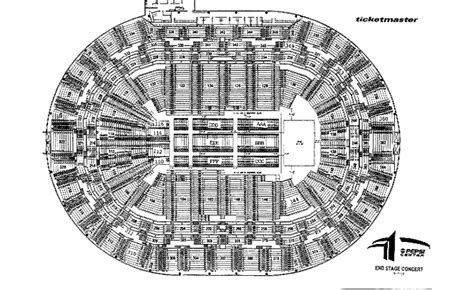 pepsi center seating chart concert pepsi center seating charts