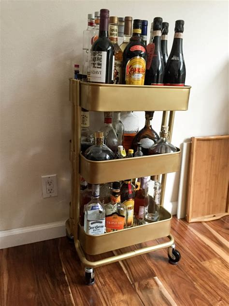 ikea bar hack bar cart ikea hack this fairy tale life