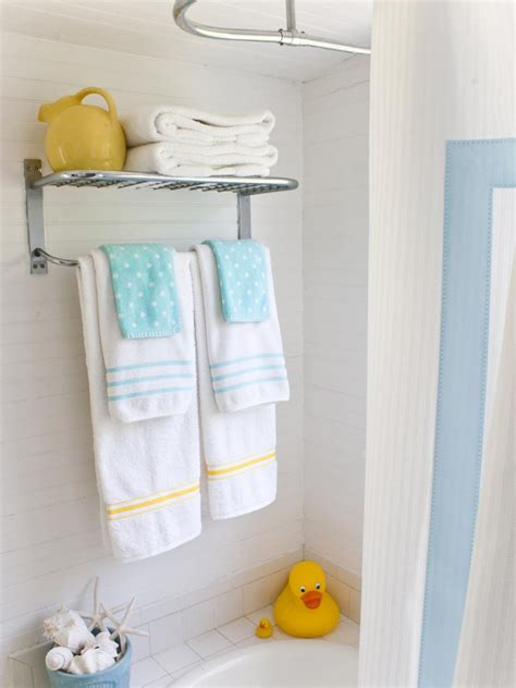 bathroom towel ideas 20 small bathroom design ideas hgtv