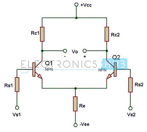 transistor differential lifier design of differential lifier circuit using transistors