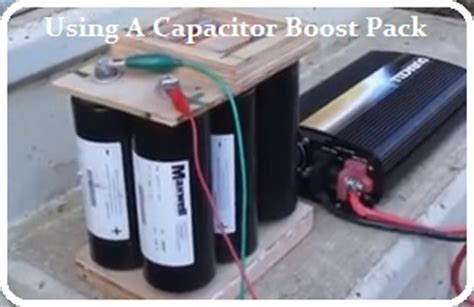 capacitor booster guide capacitor boost pack 28 images boost pack capacitor html autos post capacitor booster guide