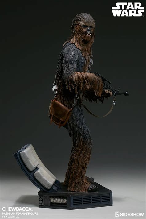 wars collectibles wars chewbacca premium format sideshow