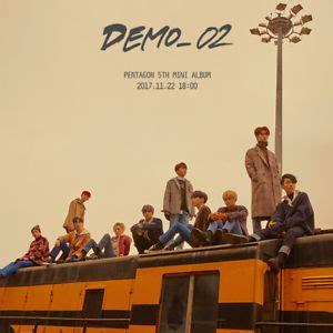 Pre Order Pentagon 4th Mini Album Demo01 pentagon demo 02 5th mini album cd poster 2ea photobook 2p card k pop sealed ebay