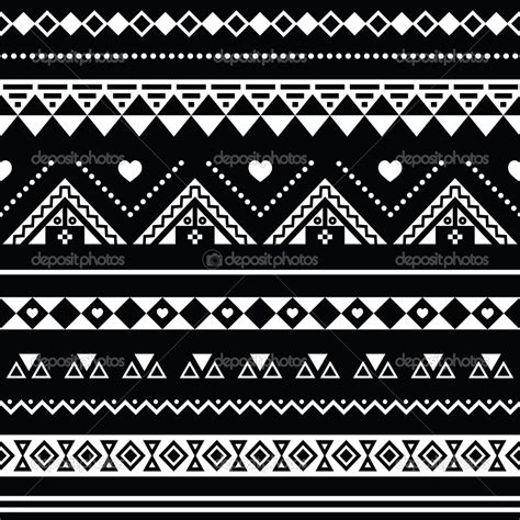 tribal pattern black and white 27 best aztec patterns wallpapers design trends