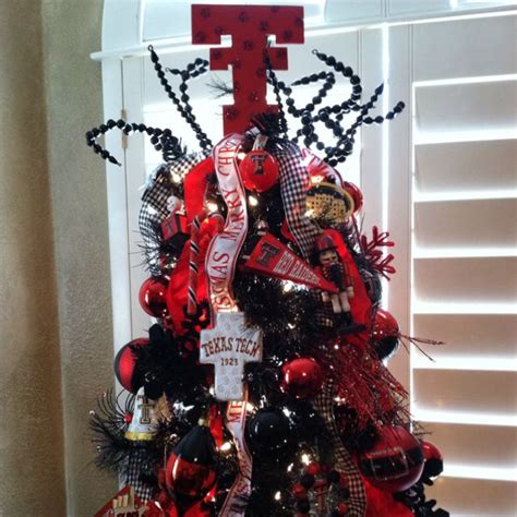 texas tech christmas tree essential for every red raider