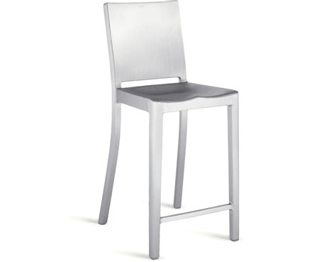 hudson bar stools emeco hudson stool hivemodern com