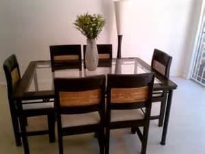 Dining Table With 6 Chairs Dining Table Dining Table Chairs 6