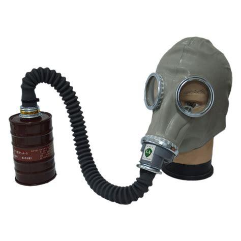 Baoweikang Masker Gas Respirator gas mask respirator mask rubber gas mask 0 5 meter one filter canister gas