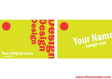 Free Business Card Layout Software business card layout free vectors ui