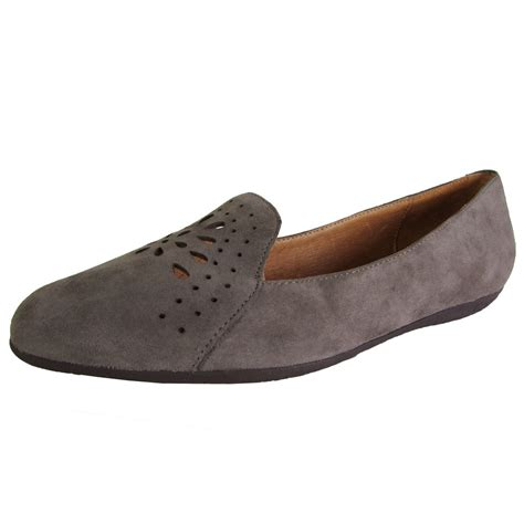 womens loafer shoes gentle souls womens erica suede slip on loafer flat shoe